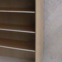 Maple 4 tier bookshelf