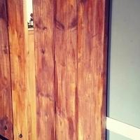 Decor Studs On A Barn Door