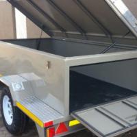 DURA: Luggage trailer, Closed luggage trailer, Utility luggage trailer