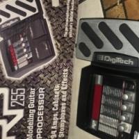 Digitech RP255 guitar effects pedal