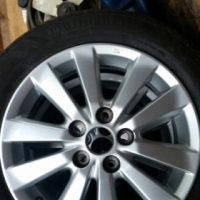 Toyota Carolla Stock Wheels