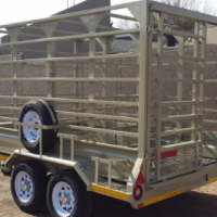DURA: Cattle trailers, Removable deck, Double deck trailers (Sheep), Agricultural trailers