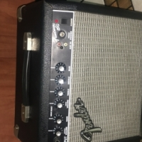 Fender Squire Strat and Fender frontman amp