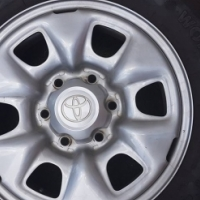 Toyota Hilux SRX rims with tyres