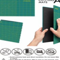 OLFA Folding Cutting Mat A2