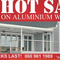 HOT SALE ON ALUMINIUM WINDOWS