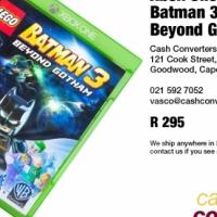 Xbox One Game: Batman 3 - Beyond Gotham for sale  South Africa