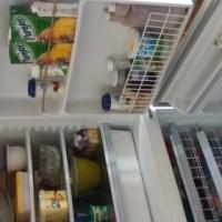 Kic double door fridge freezer