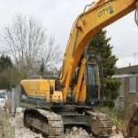 Excavators , tlb hire
