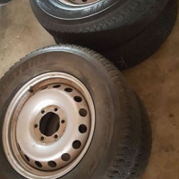 Spare wheel 17 inch 6 hole tyre excellent R800 each.