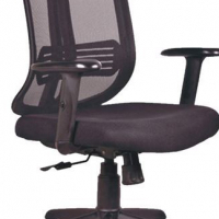 Marrone Mesh Office Chair
