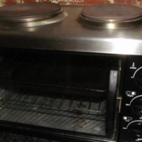 Compact 2 plate electric oven for sale