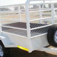 DURA: Cargo mesh side, Mesh side Utility trailers, Custom Mesh side trailers, New Mesh side trailers