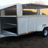 DURA: VARIOUS TRAILERS, Luggage, Cargo, Car, Game, Quad, Bike and many other Trailers