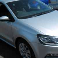 A polo 7 Tsi comfortline ,2015 model, 12000km, silver in color, factory a/c, c/d player, central loc