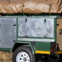 Bushtrotter Piglet Off road trailer with tent