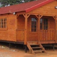 Log home and Wendy houses