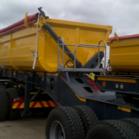 34 ton side tipper trailers galore