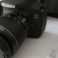 Canon EOS 650D SLR Touch screen camera with 18-55mm lens