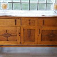 Oak Dining Room & Server/Buffet set for sale