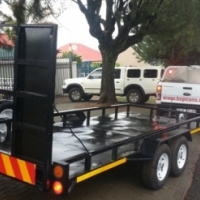 DOUBLE AXLE CAR TRAILERS.