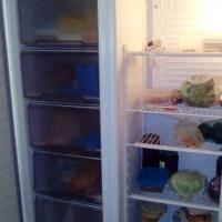 Defy side by side fridge and freezer