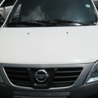 A Nissan Np200 1.6i ,2011 model, 97000km, white in color, factory a/c, c/d player, central locking,