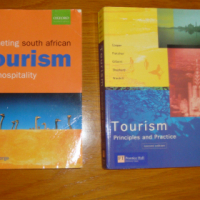 Textbooks for Tourism Management course X 2