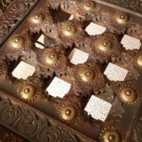 Jali Thakat Glass TopSide Tables