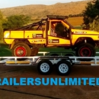 DOUBLE AXLE CAR TRAILERS FROM R32900.