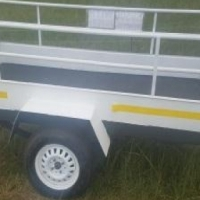 Luggage trailer with sides for sale