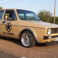 Vw Golf Mk 1 2.0 8V 1989