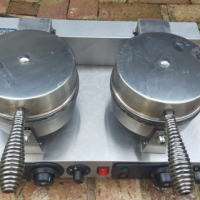 Used, Chrome Cater Double Waffle Maker for sale  West Rand