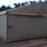 Mobile / Collapsible type Shed / Workshop