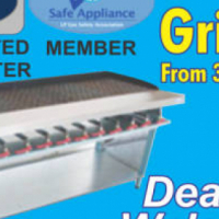 GRILLERS Brand NEW GAS