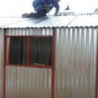 Zozo huts, steel huts, steel sheds, Gardens sheds, toolsheds 0782901702 Brooklyn