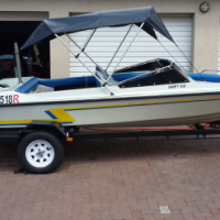 Used, Swift 156 Ski Boat with 115 V4 Yamaha Two Stroke motor for sale  Pretoria East