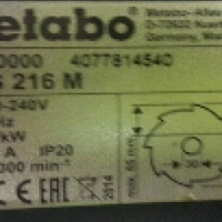 Metabo Compound Crosscut and Mitre Saw for sale