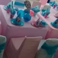 kids table and chair hire