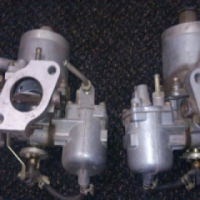 2x Webber side draft carbs