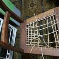 Kiaat chairs