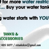 Beat the DROUGHT & WATER RESTRICTIONS...buy a WATER TANK (DBN)