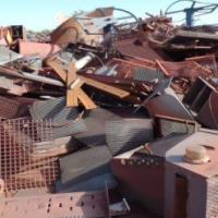 ± 300 Ton Mixed Scrap Steel