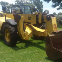 We are selling this CAT Telehandler