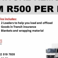 LOAD AVAILABLE FROM EAST LONDON AND PORT ELIZABETH TO PRETORIA ON THE 07 FEBRUARY 2017