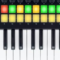 NOVATION LAUNCHKEY MINI  25-MINI KEY MIDI CONTROLLER NEW