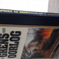 Border war and Rhodesian war books for sale