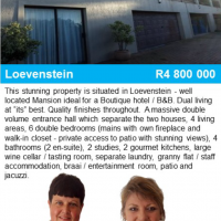 Large property for boutique hotel !