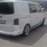 vw transporter 2007 model