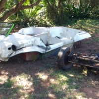 beach buggy shells and under cariage for sale